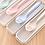 Thumbnail: Bộ muỗng đũa nĩa nhựa lúa mạch