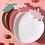 Thumbnail: Dĩa nhựa dâu tây