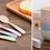 Thumbnail: Bộ chén muỗng nhựa lúa mạch