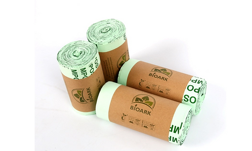 Túi rác bột ngô phân hủy nhanh bảo vệ môi trường BIOARK - BR010-013