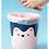 Thumbnail: Thùng rác nắp vòng phiên bản gấu cute 2021