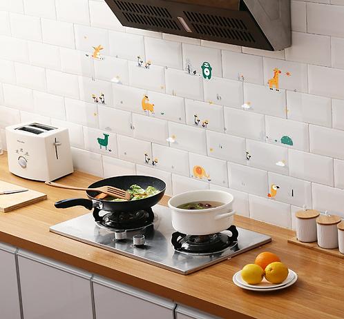 Giấy dán tường bếp chống thấm - 000472-475