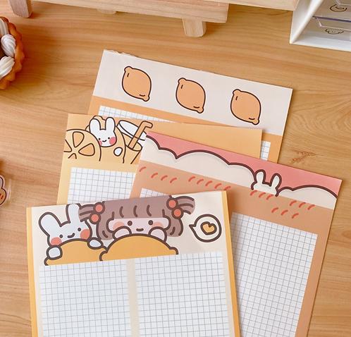 Tập giấy ghi chú kế hoạch baby bunny