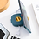 Thumbnail: Hộp cuốn tai nghe/ cáp sạc kiêm đế giữ điện thoại