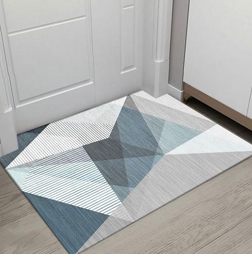 Thảm chùi chân 40*60 tam giác (nhiều mẫu)