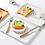 Thumbnail: Khay nhựa trắng thiết kế tối giản - K002-005