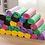 Thumbnail: Cuộn 30 túi rác màu - 000437-440