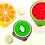 Thumbnail: Ghế nhựa hình trái cây - GN001-006