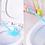 Thumbnail: Cây bàn chải cọ toilet 2 đầu - CC003-005