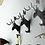Thumbnail: Móc dán sừng hươu trang trí