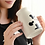 Thumbnail: Ly gốm sứ trắng họa tiết xinh xắn loại lớn