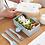 Thumbnail: Bộ hộp cơm Bento nhựa lúa mạch - H006&H007