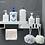 Thumbnail: Kệ đựng đồ dùng đa năng dán tường - H022-023