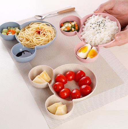 Tô mickey nhựa lúa mạch đựng thực phẩm - T012-014