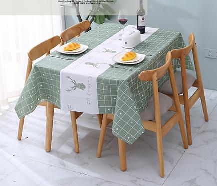 Tấm trải bàn nhựa chống thấm phong cách Châu Âu