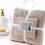 Thumbnail: Bộ khăn tắm 30*70 & 70*140cm Xuất Hàn