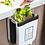 Thumbnail: Thùng rác treo cánh tủ/ thùng rác xe hơi màu trắng - TR018