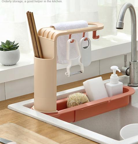 Kệ kê bồn rửa chén tiện lợi phù hợp với nhiều loại bồn