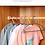 Thumbnail: Móc nhựa thiết kế vòm giúp giữ form áo - M008-010