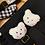 Thumbnail: Huy hiệu gấu bông trắng