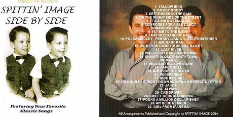 Spittin' Image CD - Side By Side