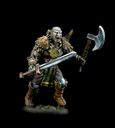 Maskarr Stoneskin, Half-Giant Warrior