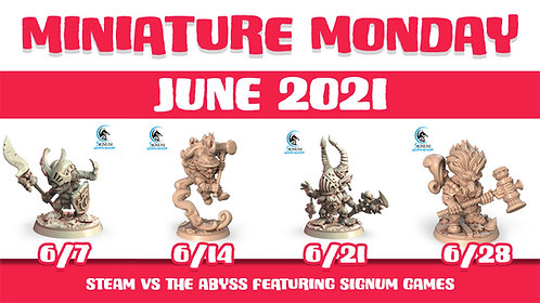Miniature Monday : June