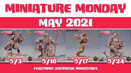 Miniature Monday : May