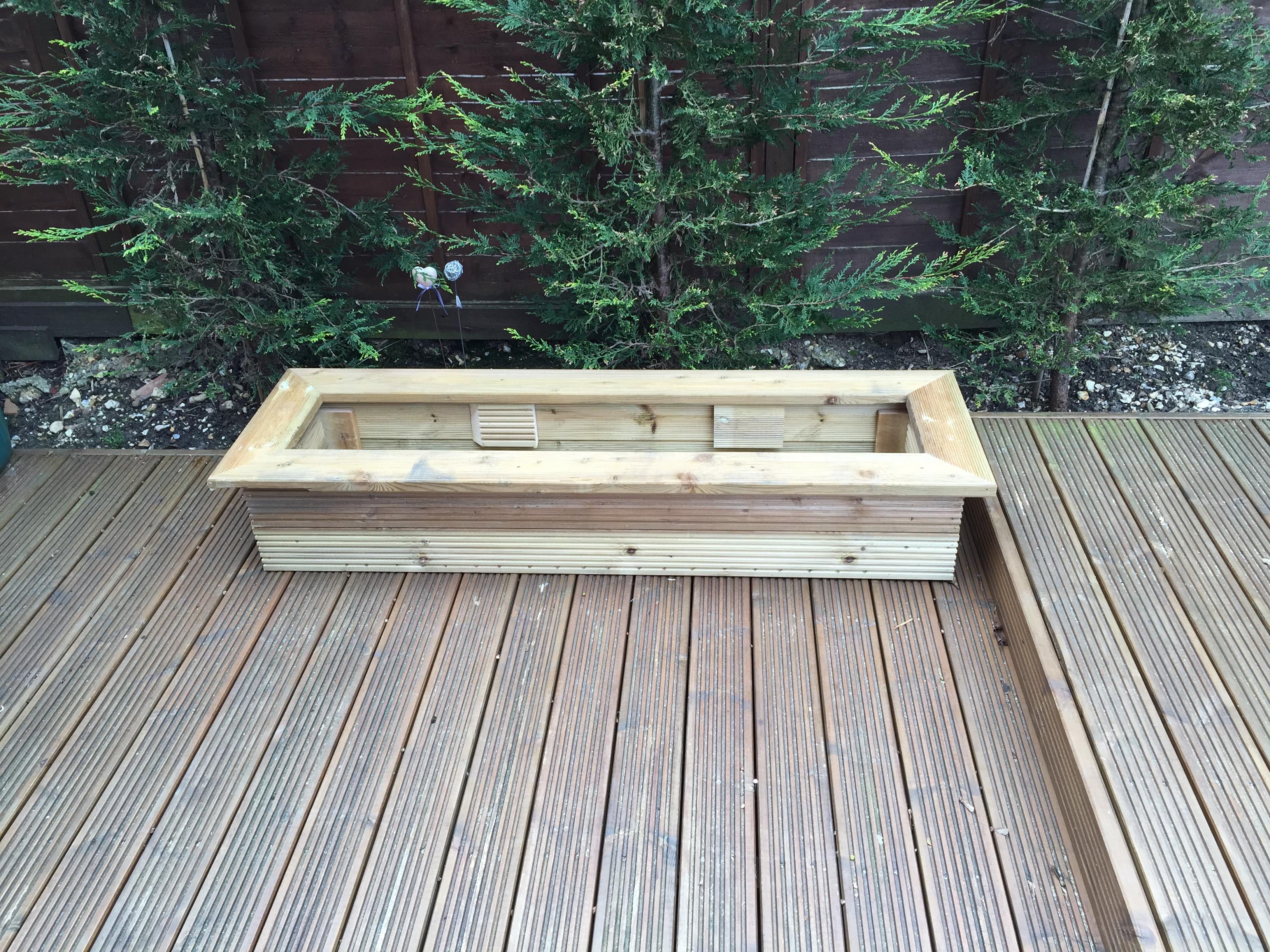 Decking Planter 3