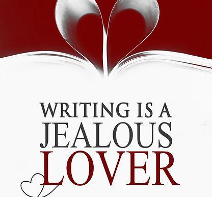 New Cover for Writing is a Jealous Lover