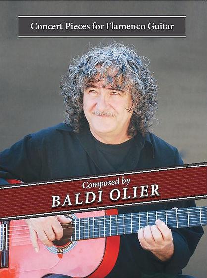 Baldi Olier Concert Pieces for Flamenco Guitar- 2017