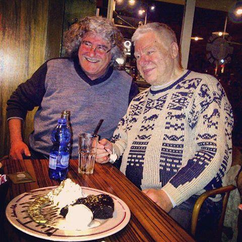 עם יצחק קלפטר