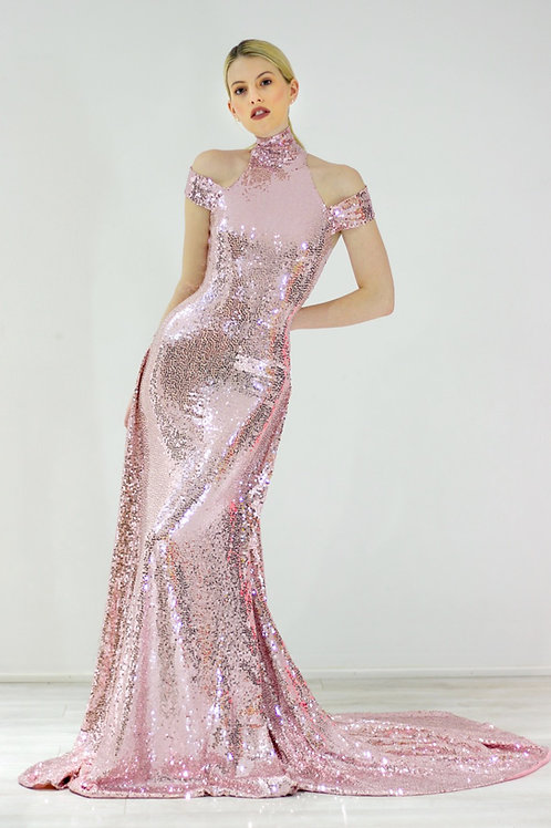 Liquid Pink MARGOT GOWN