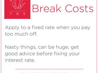 Break costs...explained