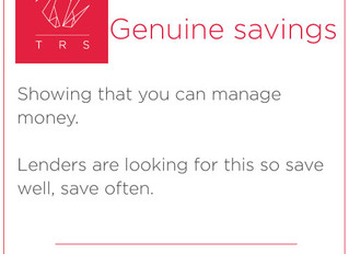 Genuine Savings...time to save!