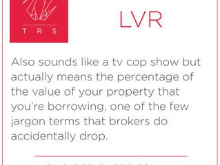 LVR - Loan to Value Ratio