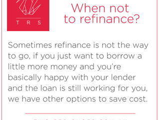 Do I need to refinance?