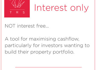 Interest only loans
