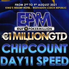 EPM DAY1I SPEED il chipcount dei 50 qualificati al Day2