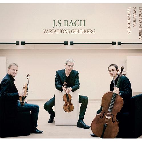 J.S BACH Variations Goldberg BWV 988 pour trio à cordes - Surel/Radais/Sabouret