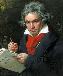 Beethoven-composant-la-Missa-Solemnis-par-Joseph-Carl-Stieler-portrait-a-l-huile-1819-ou-1