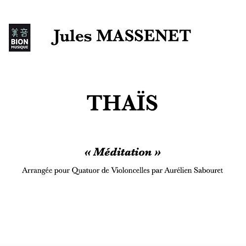 Massenet - Méditation de Thaïs pour Quatuor de Violoncelles