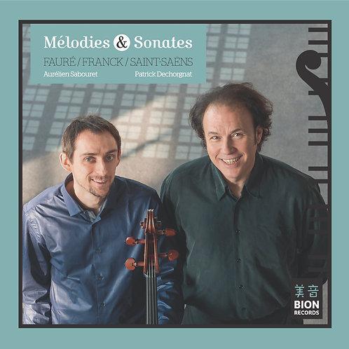 MELODIES & SONATES pour violoncelle & piano - Sabouret/Dechorgnat