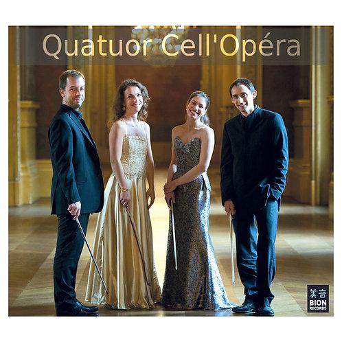QUATUOR CELL'OPERA - Arrangements Variés pour Quatuor de Violoncelles