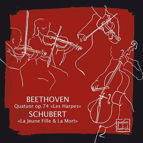 """Quatuor Bedrich: BEETHOVEN, """"Les Harpes"""" - SCHUBERT, """"La Jeune Fille & La Mort"""""""
