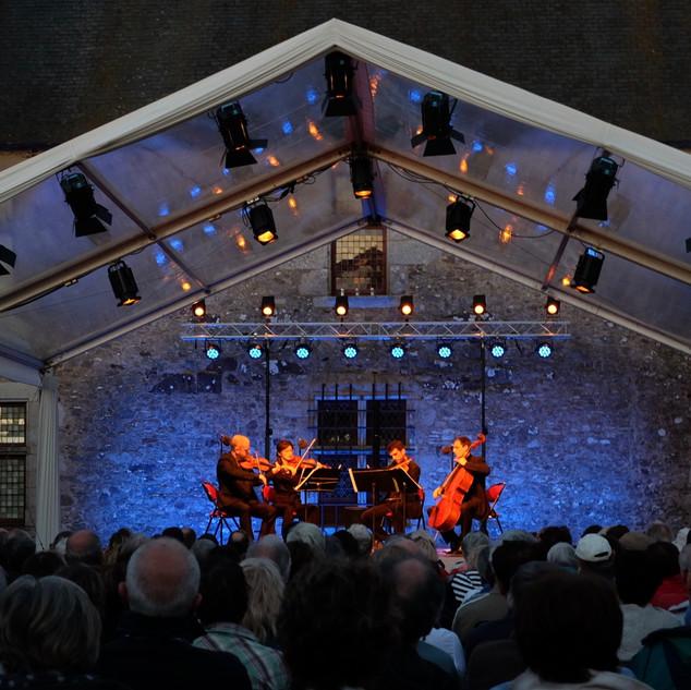Concert à la Chabotterie (08/2017)