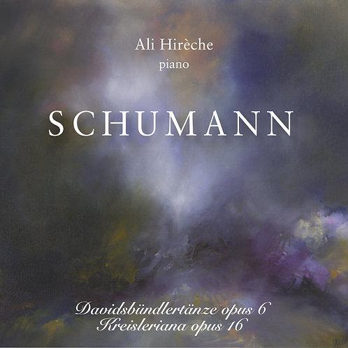 SCHUMANN - Davidsbündlertänze op.6 & Kreisleriana op.16 - Ali Hirèche, piano