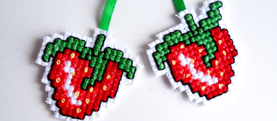 Making lots of different things from one cross stitch chart!