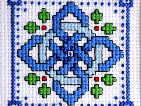 A Year of Christmas Stitching - July