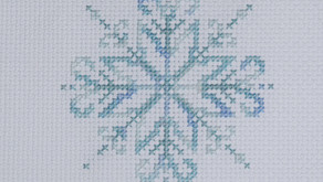 A Year of Christmas Stitching - August